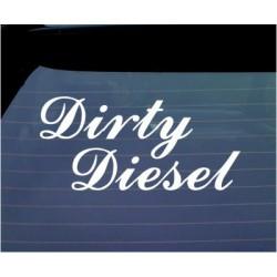 Dirty Diesel huumoriga kleebis