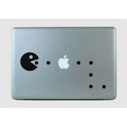 PACMAN - sülearvuti kaane disainkleebis vinüülkaunistus