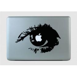 SILM - sülearvuti kaane disainkleebis vinüülkaunistus