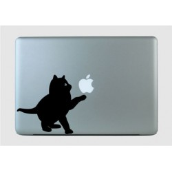 Playing Kitten - Vinyl Art MacBook Laptop Skin Decal Sticker