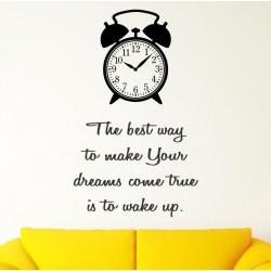 Best way To Make Your Dreams Come True - kleebitav seinadekoratsioon seina kleebis