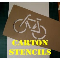 Carton Stencil With Custom Design