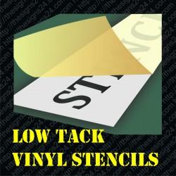 Onetime Adhesive Vinyl Stencil With Custom Design