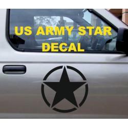 USA armee logo täht kleebis