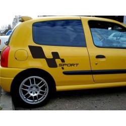 Car Sport side decals v1