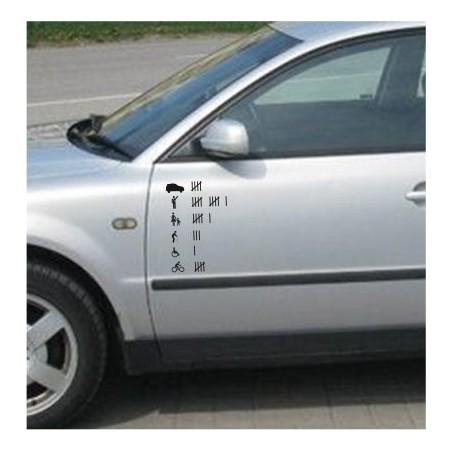 Traffic Hooligan sticker