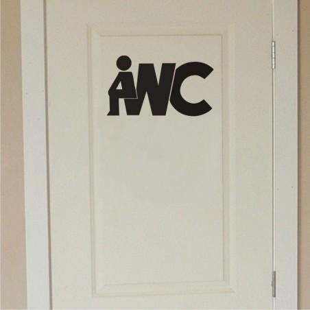 WC tualeti uksekleebis v7